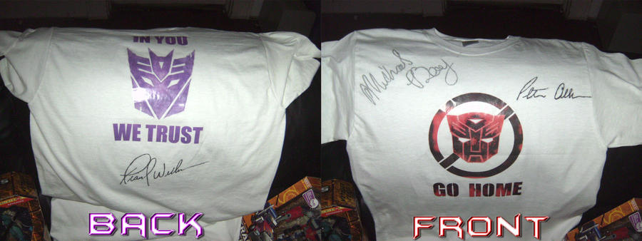 my Autographed T-Shirt by BDixonarts