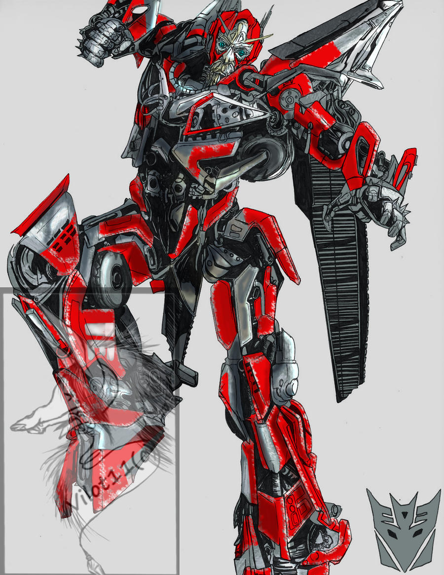 Sentinel prime colors by bdixonarts on deviantart for Transformers sentinel prime coloring pages