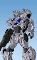 Protoform Optimus colors by BDixonarts