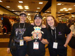 Me, Cass and Josh Perez by BDixonarts