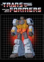 G1 Grimlock colors  commission by BDixonarts