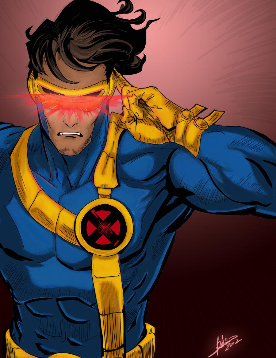 Comics Forever, Cyclops // artwork by Phillip Chan and ...X Men Cyclops Comic