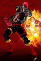 GI Joe Crimson Batt colors by BDixonarts