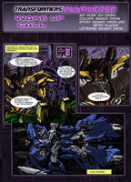TF Multiverse: Wake up call page 1 by BDixonarts