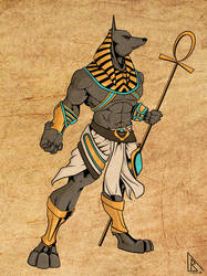 Anubis colors done by BDixonarts