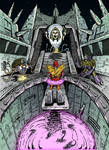 Transformers Quintessons   Hot Rod Trial Colors