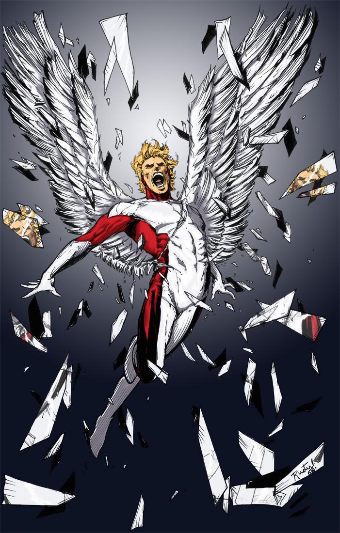 Angel Low Res by BDixonarts