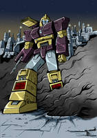 Impactor on Cybertron colors low res by BDixonarts