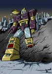 Impactor on Cybertron colors low res