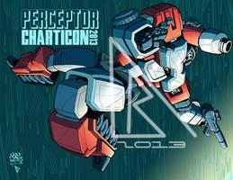 Perceptor: charticon print Low Res by BDixonarts