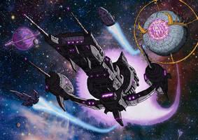 Galvatron's Armada low res by BDixonarts