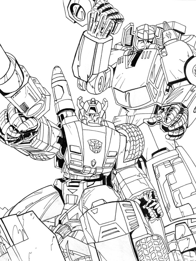 Sideswipe transformers coloring pages coloring pages for Transformers g1 coloring pages