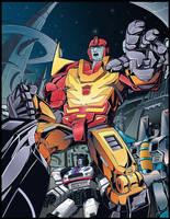 Rodimus Jazz And Tc Colors Done Low Res by BDixonarts