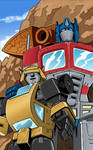 Optimus And Bumblebee Colors Done Low Res
