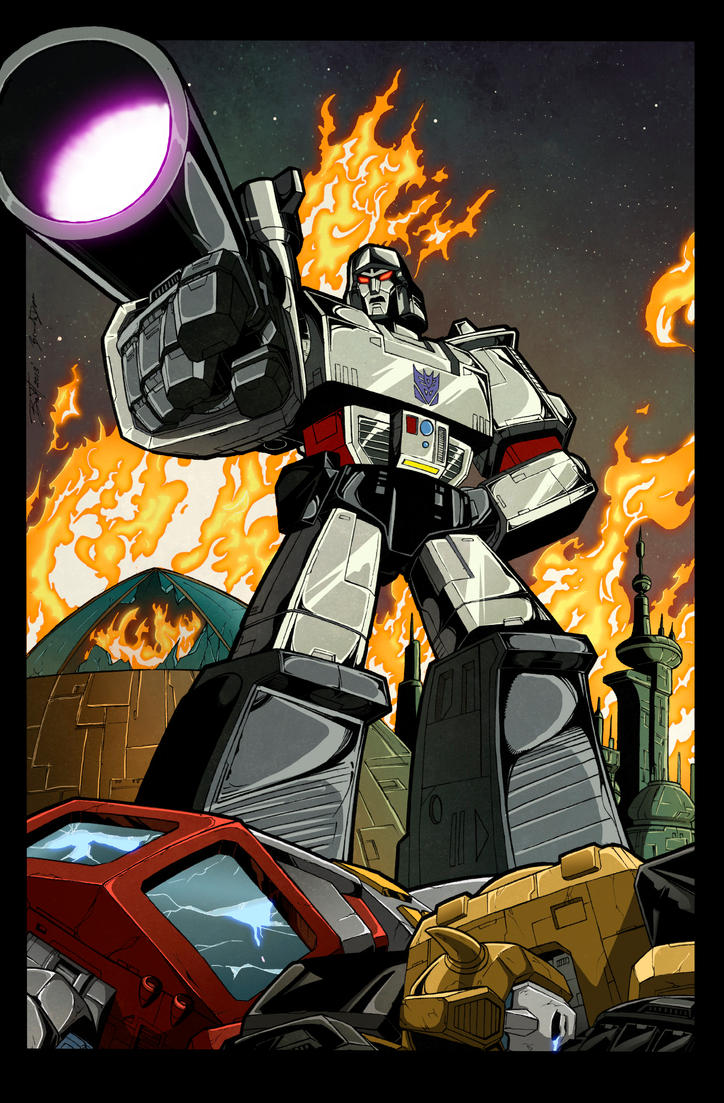 What If Megatron Colors 2015 by BDixonarts