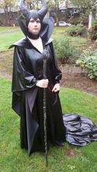 My maleficent cosplay by BDixonarts