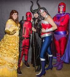 portland super heroes coalition group pic by BDixonarts