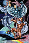 Silverhawks Colors Done