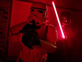 Me and Vader by BDixonarts