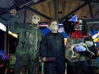 Horror trio by BDixonarts