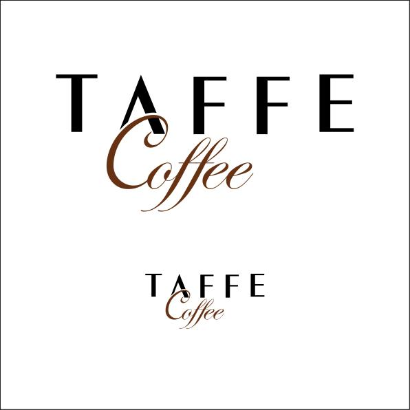 taffe Coffee logo by burchgurel