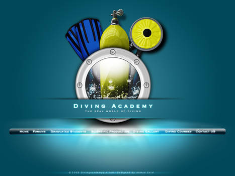 diving academy site home