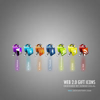 Web 2.0 Gift Icons by 3nc