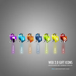 Web 2.0 Gift Icons