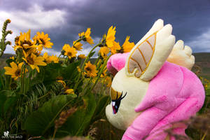 As Thunder Brews Overhead - Flutterbat by FluttershyHiker