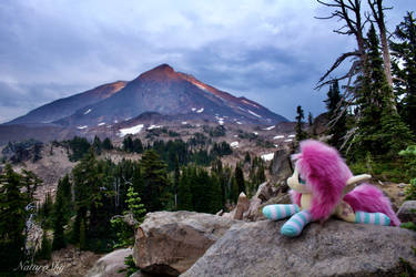 Alpenglow on Mount Adams