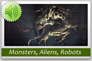 Monsters, Aliens, Robots