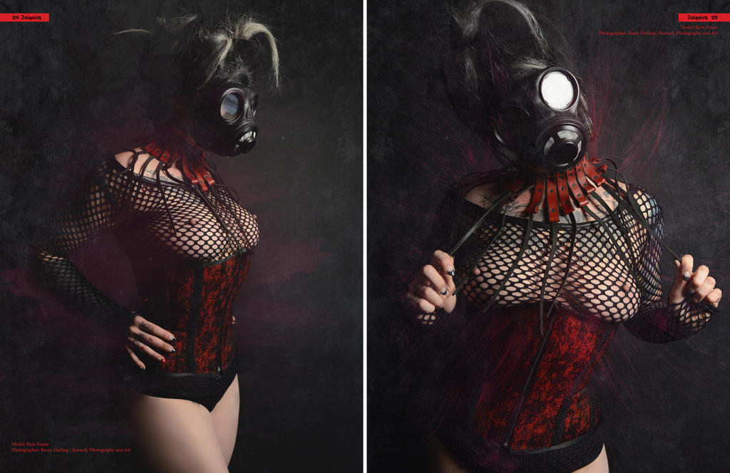 Iniquity Issue #1 - Tear Sheets by remydarling