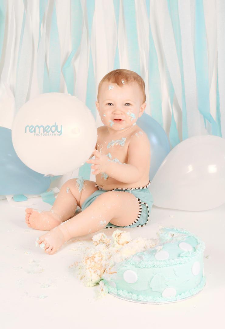 Zayden's Cake Smash by remydarling