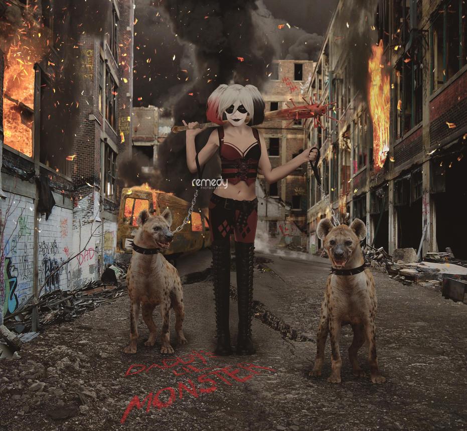 Harley Quinn by remydarling