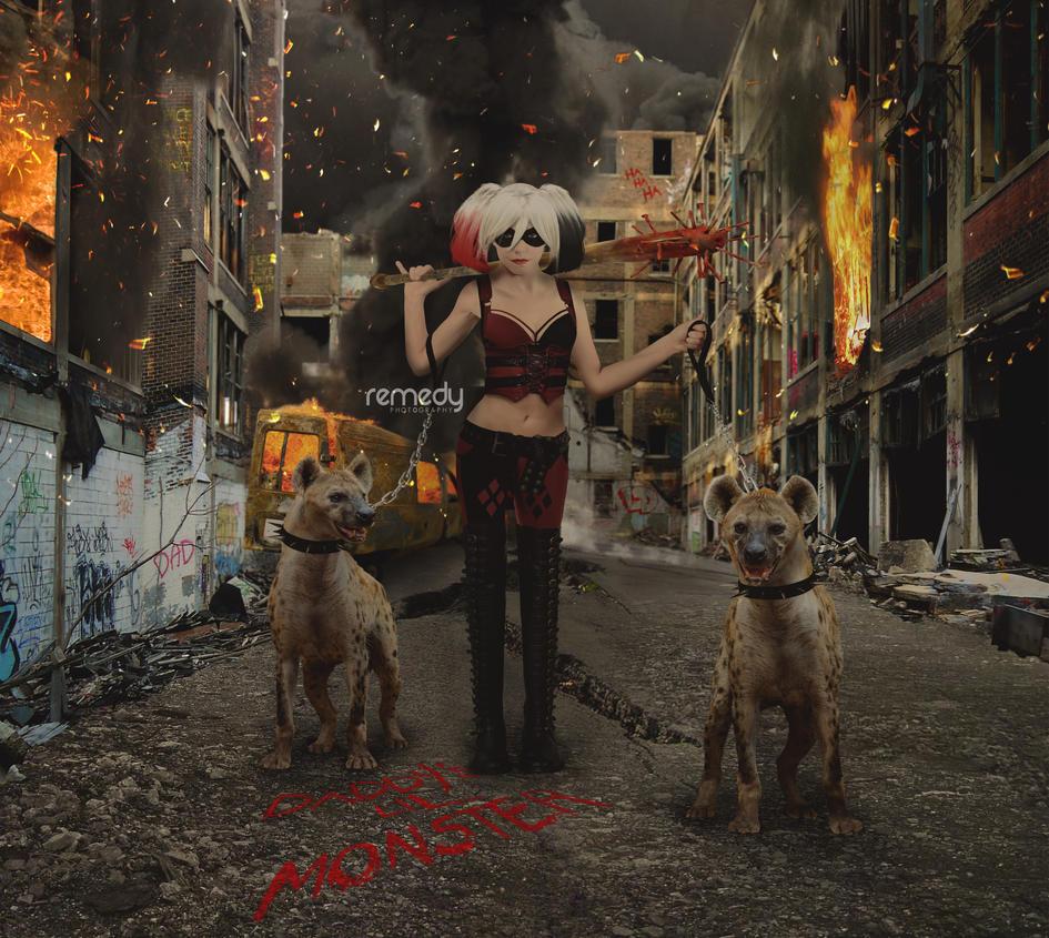 Harley Quinn Take2 by remydarling