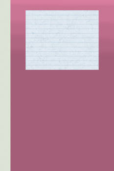 Diary Cover Template - Pink