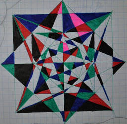 Double squre with lines by konyasha