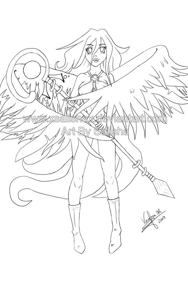 Dibujos By Salisha Angelita_Lineart_by_xSalishax