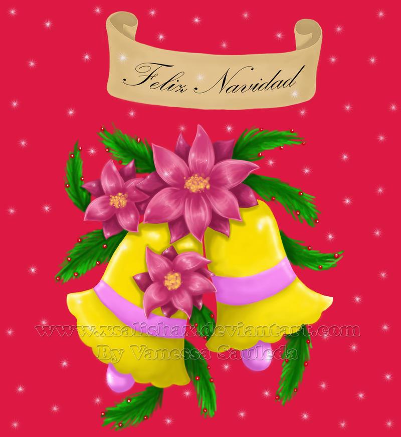 Dibujos By Salisha __Feliz_Navidad___by_xSalishax