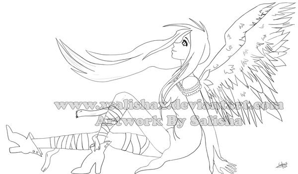 Dibujos By Salisha __Angel___by_xSalishax