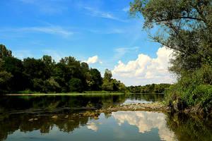 river side ( summer version) by DavidMnr