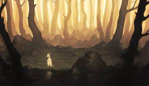 Pondering Strangers by MoaWallin