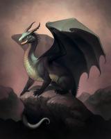 Dragon by MoaWallin