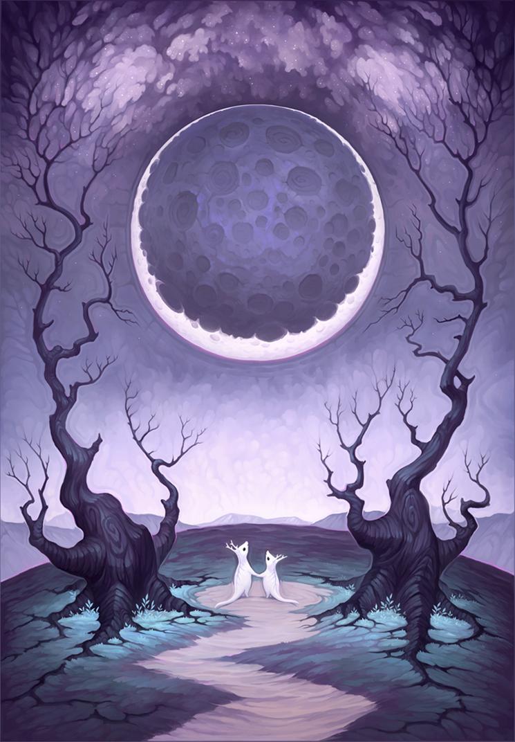 Moongazing by MoaWallin