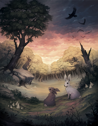 Bunnies and Burrows - cover art