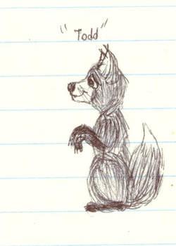 Todd Fox Cub Early Version