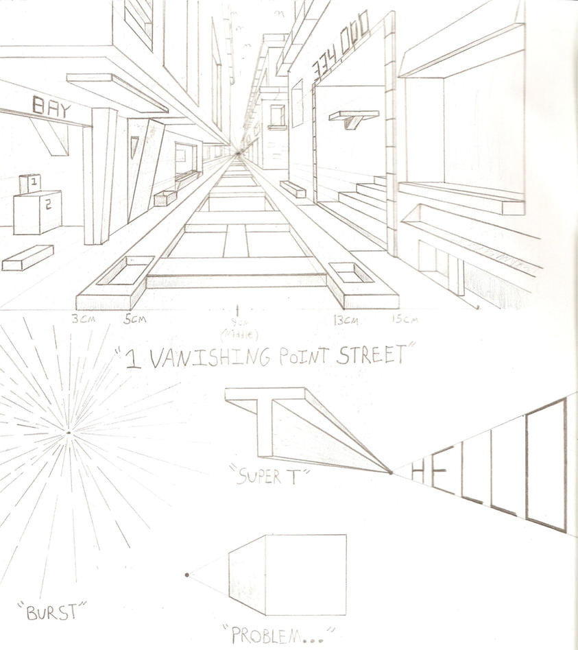 This is a picture of Unforgettable 2 Point Perspective Drawing Tutorial