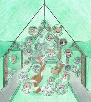 Dedications: Hall of Emerald by GriswaldTerrastone