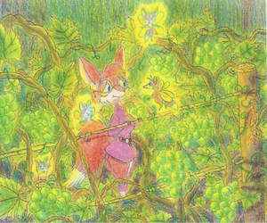 Miss Tanya In A Vineyard by GriswaldTerrastone
