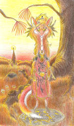 Tir-Esisanji, Priestess by GriswaldTerrastone
